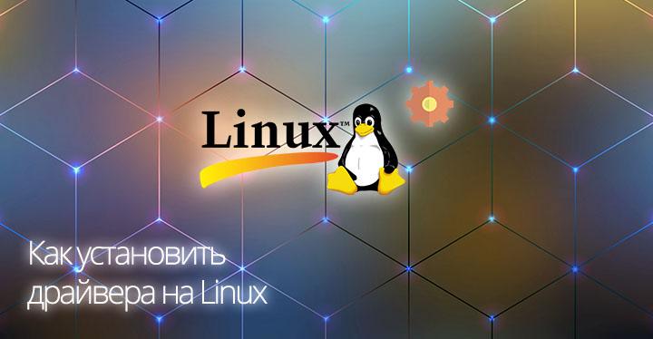 Превью Как установить драйвера на Linux