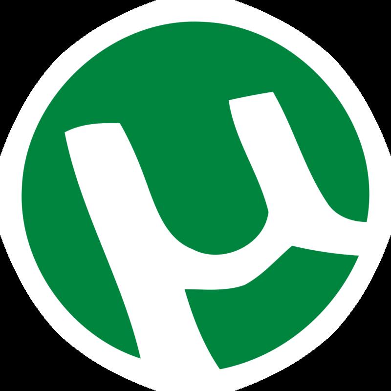 Логотип юторрент