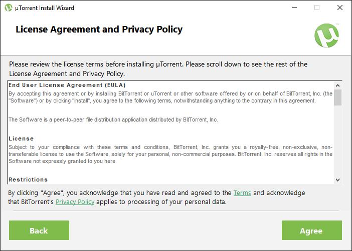 Лицензионное соглашение программы