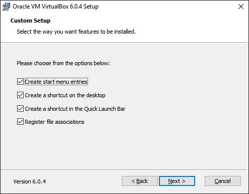 Создание иконок VirtualBox