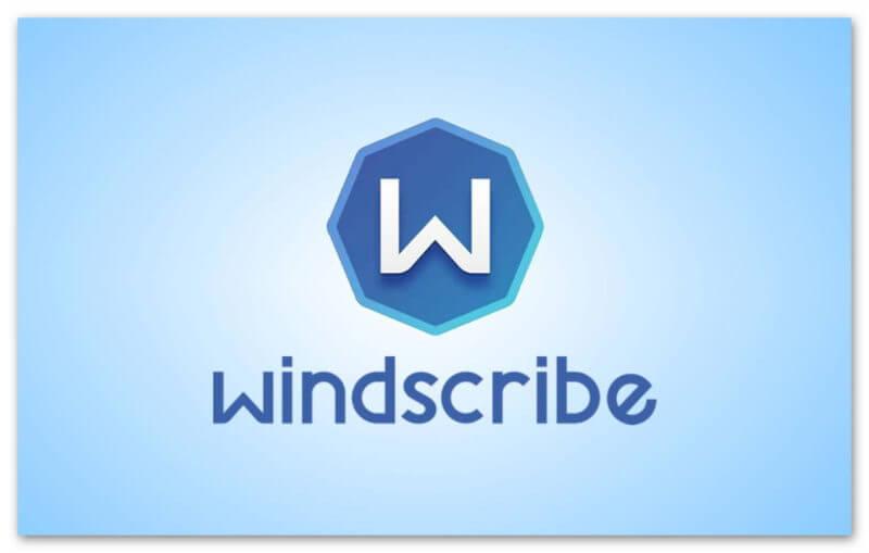 Логотип Windscribe