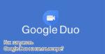 Google Duo для компьютера
