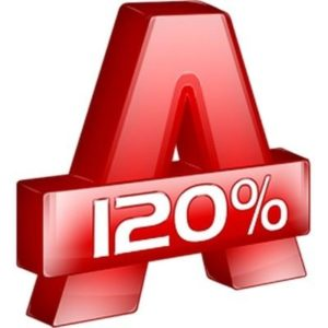 Alcohol 120% логотип