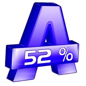 Alcohol 52% логотип