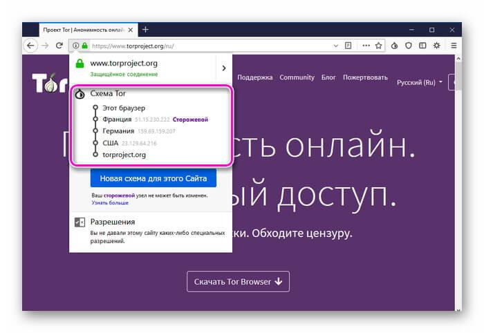 Как выбрать ip в тор браузере hydra2web tor browser download proxy hidra