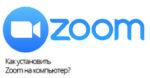 Zoom обзор приложения